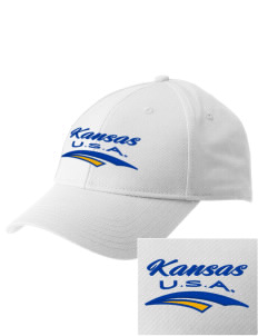 Kansas  Embroidered New Era Adjustable Structured Cap