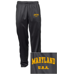 Maryland Embroidered Men's Tricot Track Pants