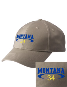 Montana  Embroidered New Era Adjustable Structured Cap