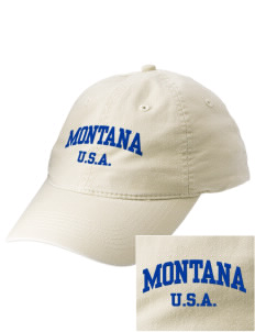 Montana Embroidered Vintage Adjustable Cap