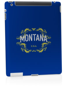 Montana Apple iPad 2 Skin