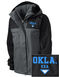 Oklahoma  Embroidered Women's Nootka Jacket