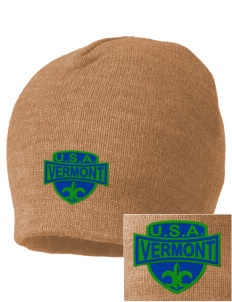 Vermont Embroidered Beanie