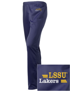 Lake Superior State University Lakers Embroidered Holloway Women's Contact Warmup Pants