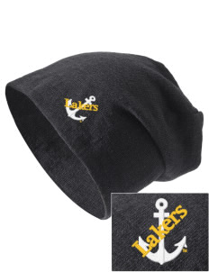 Lake Superior State University Lakers Embroidered Slouch Beanie