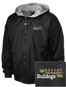 Bryant University Bulldogs Embroidered Holloway Men's Hooded Jacket