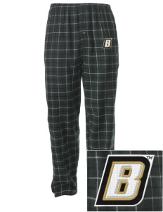 Bryant University Bulldogs Embroidered Men's Button-Fly Collegiate Flannel Pant