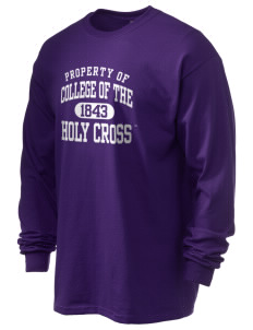 College of the Holy Cross Crusaders 6.1 oz Ultra Cotton Long-Sleeve T-Shirt