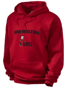 Ohio Wesleyan University Battling Bishops Men's Hooded Sweatshirt