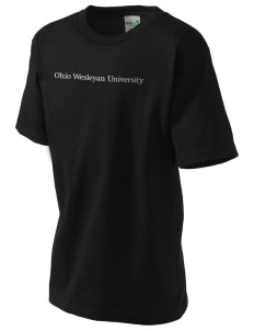 Ohio Wesleyan University Battling Bishops Kid's Organic T-Shirt
