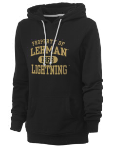 Lehman College Lightning Women's Core Fleece Hooded Sweatshirt