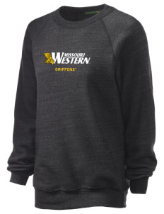 Missouri Western State University Griffons Unisex Alternative Eco-Fleece Raglan Sweatshirt