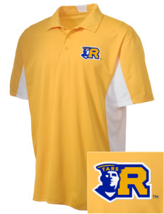 Rollins College Tars Embroidered Men's Side Blocked Micro Pique Polo