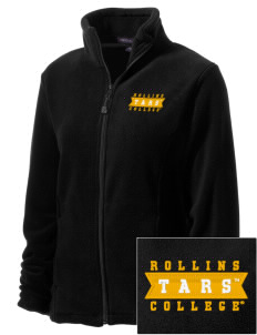 Rollins College Tars Embroidered Women's Wintercept Fleece Full-Zip Jacket