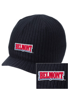 Belmont University Bruins Embroidered Knit Beanie with Visor