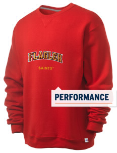Flagler College Saints  Russell Men's Dri-Power Crewneck Sweatshirt