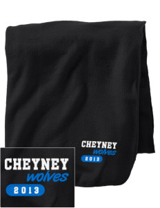 Cheyney University Wolves Embroidered Holloway Stadium Fleece Blanket