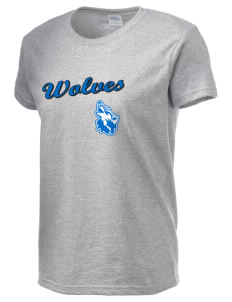 Cheyney University Wolves Women's 6.1 oz Ultra Cotton T-Shirt