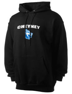 Cheyney University Wolves Men's 7.8 oz Lightweight Hooded Sweatshirt