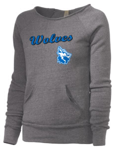 Cheyney University Wolves Alternative Women's Maniac Sweatshirt