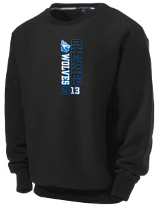 Cheyney University Wolves Men's Heavyweight Crewneck Sweatshirt