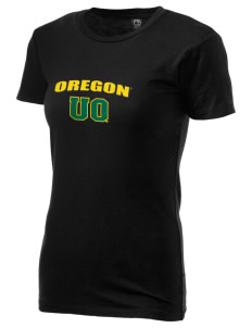 University of Oregon Ducks Alternative Women's Basic Crew T-Shirt