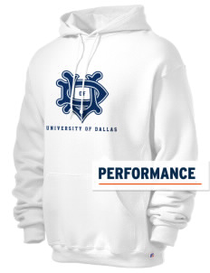 University of Dallas Crusaders Russell Men's Dri-Power Hooded Sweatshirt