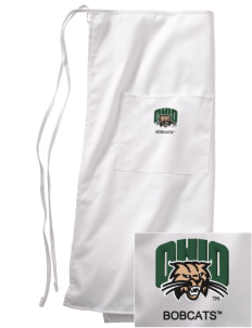Ohio University Bobcats Embroidered Full Bistro Bib Apron