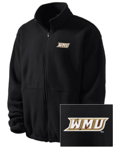 Western Michigan University Broncos Embroidered Men's Fleece Jacket