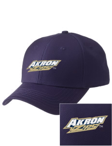 The University of Akron Zips  Embroidered New Era Adjustable Structured Cap