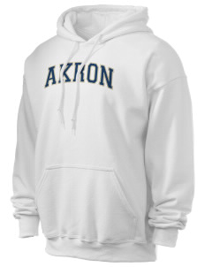 The University of Akron Zips Ultra Blend 50/50 Hooded Sweatshirt