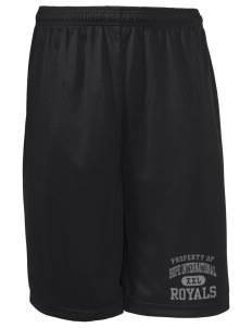 "Hope International University Royals Long Mesh Shorts, 9"" Inseam"