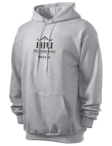 Hope International University Royals Men's 7.8 oz Lightweight Hooded Sweatshirt