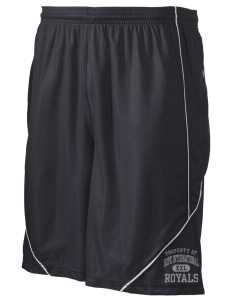"Hope International University Royals Men's Pocicharge Mesh Reversible Short, 9"" Inseam"