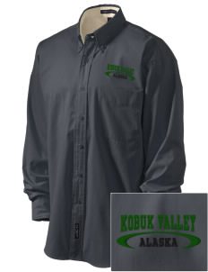Kobuk Valley National Park Embroidered Men's Easy-Care Shirt