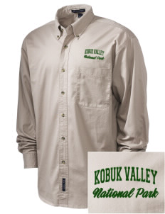 Kobuk Valley National Park Embroidered Men's Twill Shirt