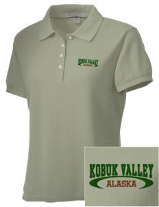 Kobuk Valley National Park Embroidered Women's Performance Plus Pique Polo