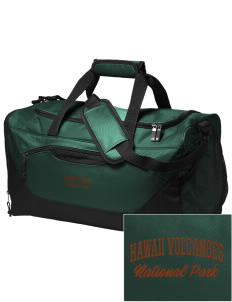 Hawaii Volcanoes National Park Embroidered Holloway Chill Medium Duffel Bag