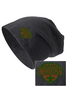 Minidoka National Historic Site Embroidered Slouch Beanie