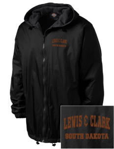 Lewis & Clark National Historic Trail Embroidered Dickies Men's Fleece-Lined Hooded Jacket