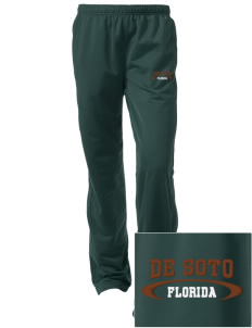 De Soto National Memorial Embroidered Women's Tricot Track Pants
