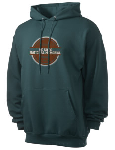 De Soto National Memorial Men's 7.8 oz Lightweight Hooded Sweatshirt