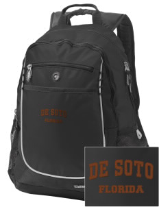 De Soto National Memorial Embroidered OGIO Carbon Backpack