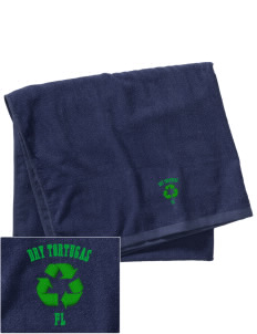 Dry Tortugas National Park Embroidered Beach Towel