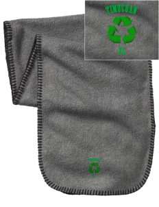 Timucuan Ecological & Historic Preserve Embroidered Fleece Scarf
