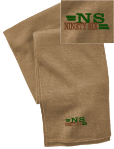 Ninety Six National Historic Site  Embroidered Knitted Scarf