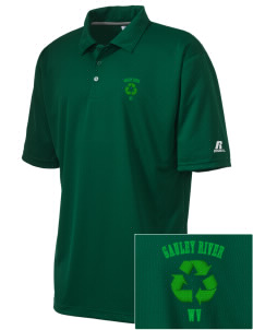 Gauley River National Recreation Area Embroidered Russell Coaches Core Polo Shirt