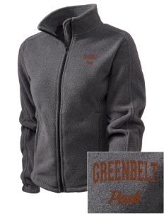 Greenbelt Park Embroidered Women's Fleece Full-Zip Jacket