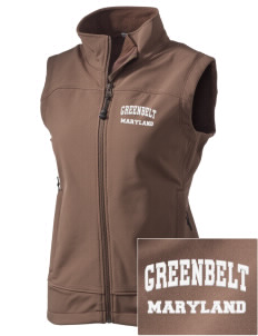 Greenbelt Park  Embroidered Women's Glacier Soft Shell Vest