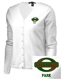 Greenbelt Park Embroidered Women's Stretch Cardigan Sweater